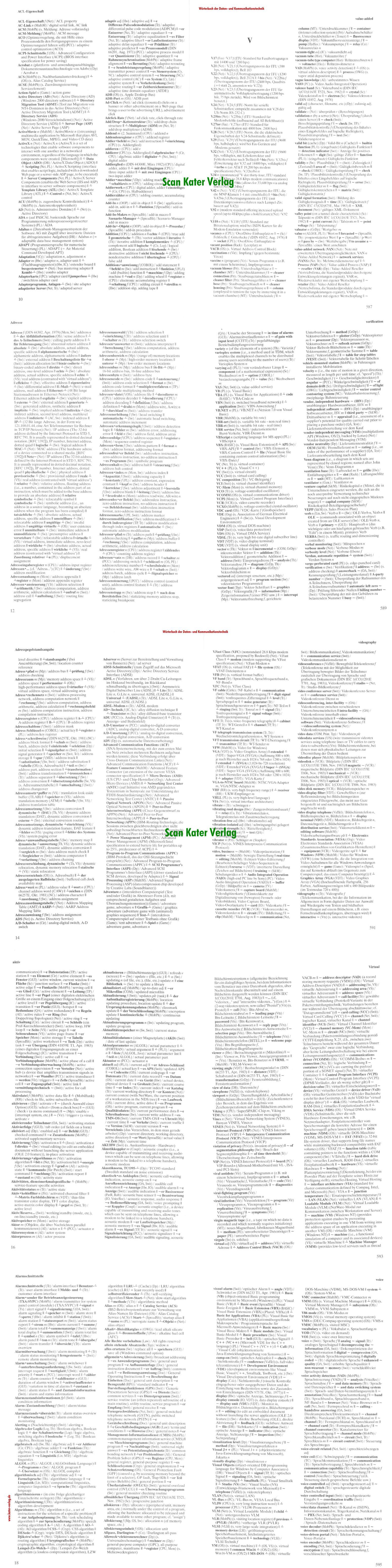 Brinkmann / Blaha: Wörterbuch der Daten- und Kommunikationstechnik DE-EN, EN-DE