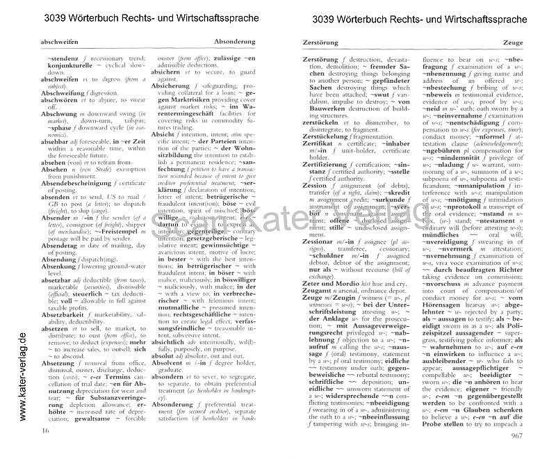 Slabý / Grossmann / Illig: Wörterbuch der spanischen und deutschen Sprache Band I Spanisch-Deutsch ES-DE
