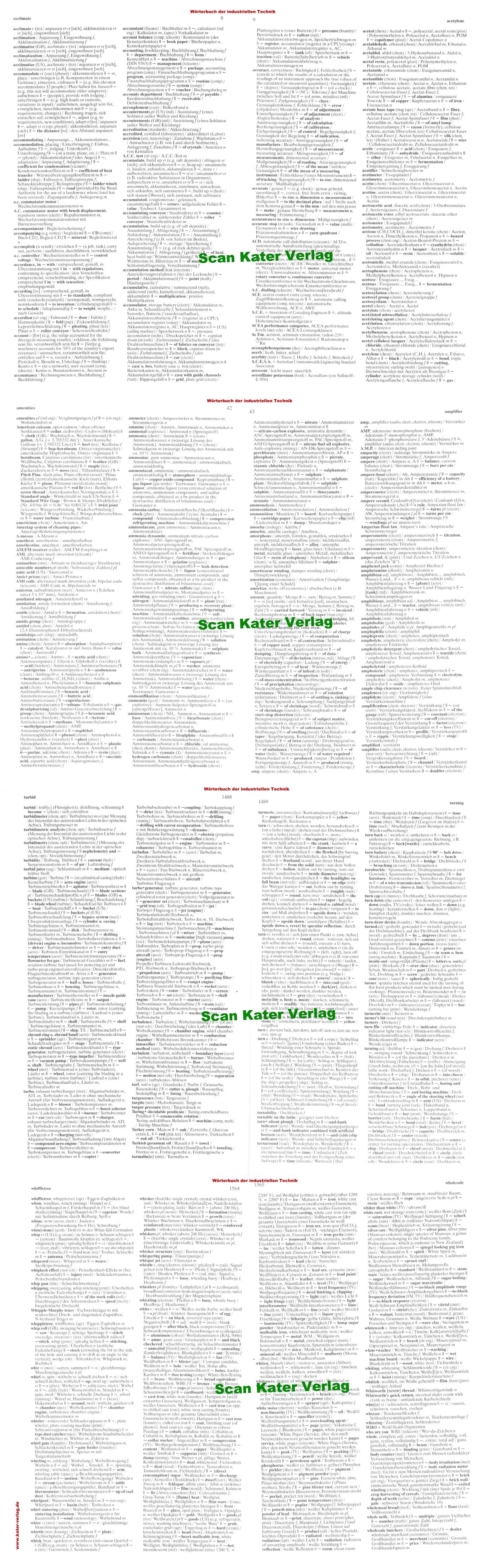 Ernst: Wörterbuch der industriellen Technik II Englisch - Deutsch EN-DE