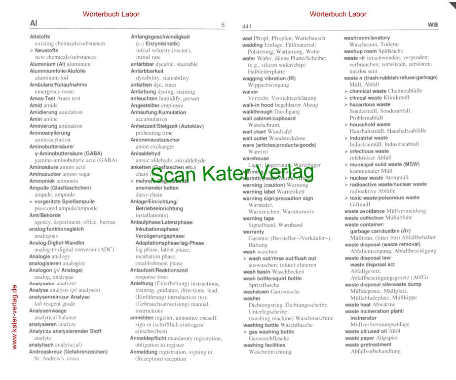 Cole: Wörterbuch Labor DE-EN, EN-DE