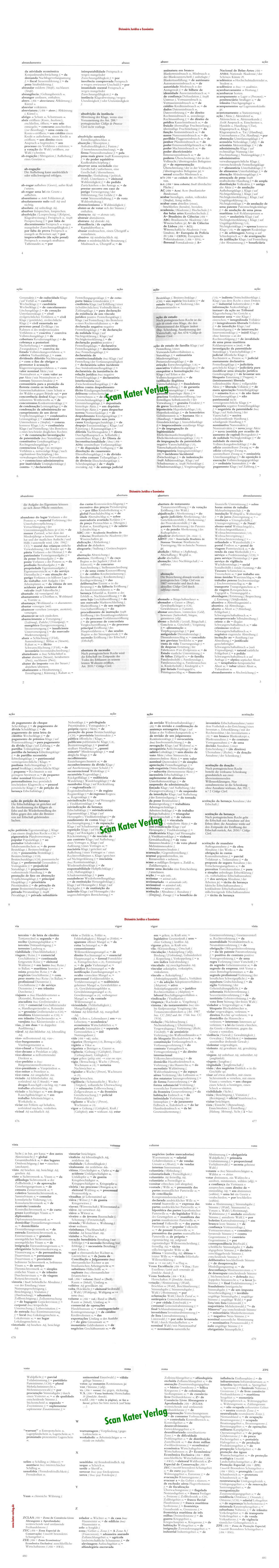 Jayme/Neuss: Wörterbuch der Rechts- und Wirtschaftssprache I Portugiesisch-Deutsch PT-DE