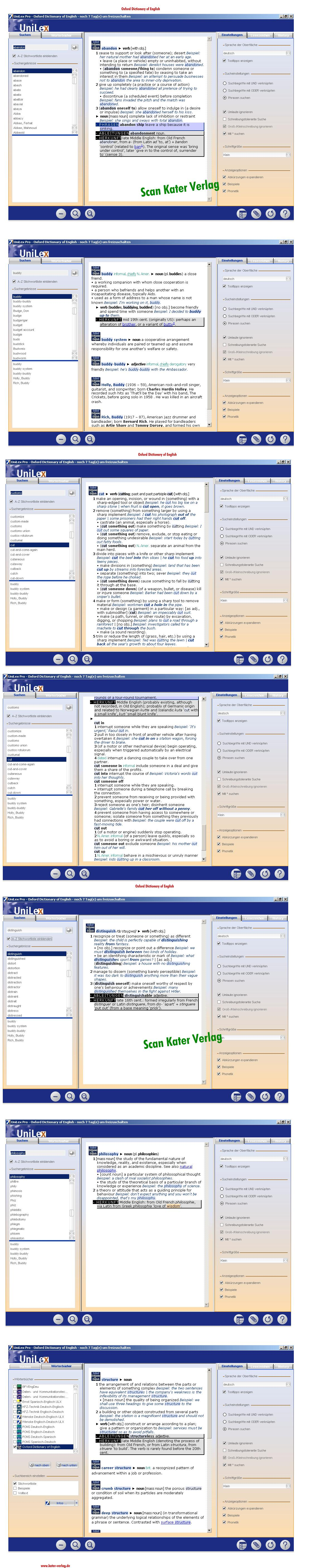 Oxford Dictionary of English EN-EN DOWNLOAD