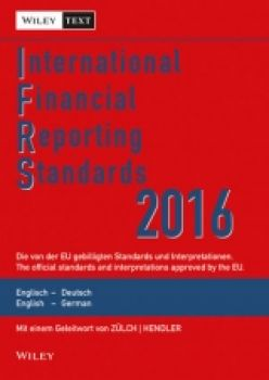 International Financial Reporting Standards (IFRS) 2016 Englisch-Deutsch