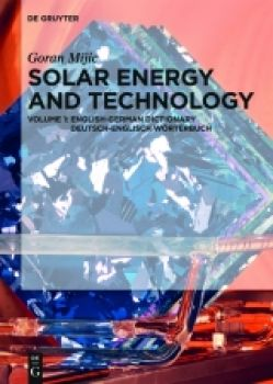 Solar Energy and Technology Dictionary EN-DE, DE-EN