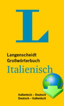Langenscheidt Italienisch Professional DOWNLOAD Update DE-IT, IT-DE