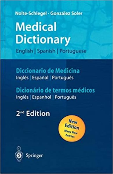 Medical Dictionary English-Spanish-Portuguese EN-ES-PT