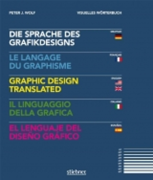 Sprache des Grafikdesigns - Wörterbuch in 5 Sprachen